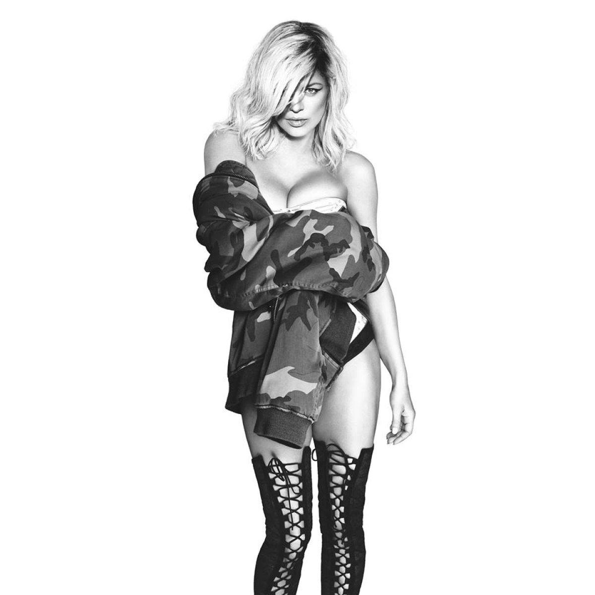 Fergie Desnuda A Kim Kardashian Ciara Chrissy Teigen Para El Video