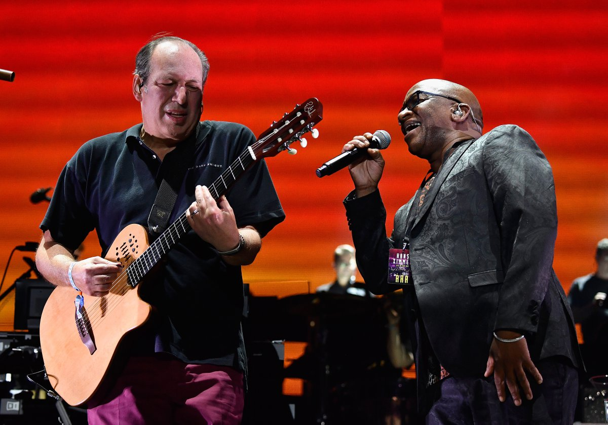 Hans Zimmer y Pharrell Williams en Coachella 2017