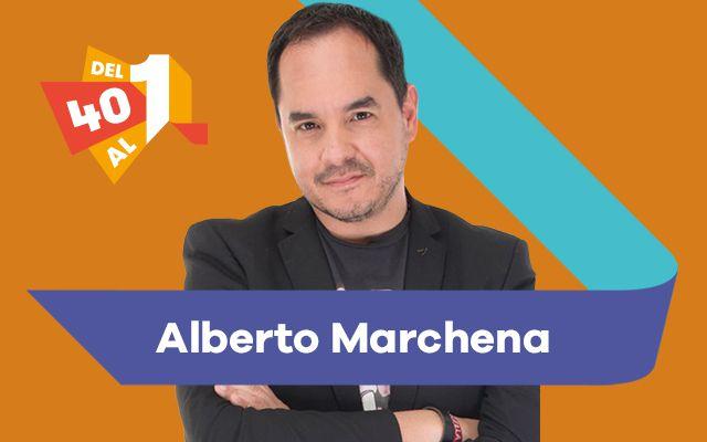 Roberto Cardona actualiza las 5 canciones más importantes en LOS40 esta semana en el conteo que dirige Alberto Marchena.