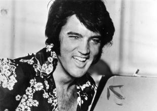 Sale a la venta un antiguo revolver de Elvis Presley