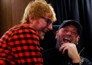 El guardaespaldas de Ed Sheeran toda una estrella en instagram por estas publicaciones