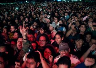 Imágenes del primer día del Vive Latino